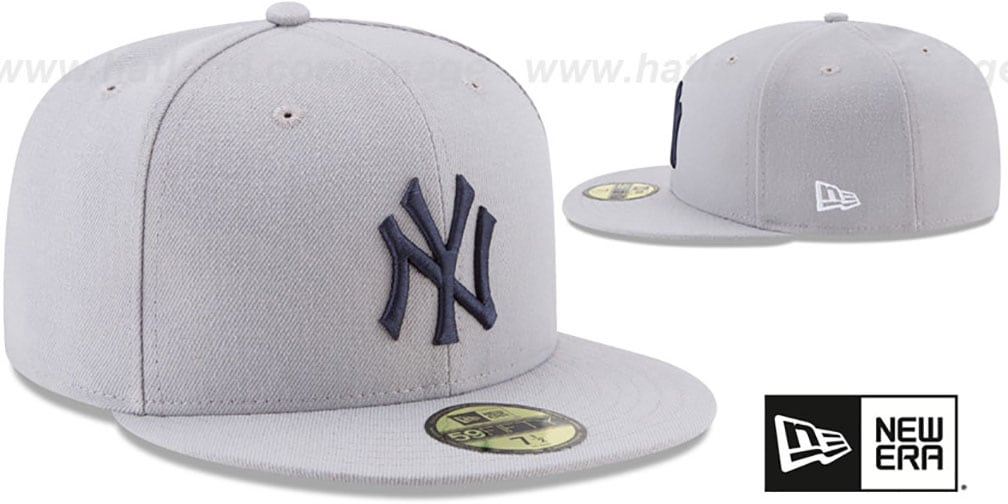 Yankees '2017 MLB LITTLE-LEAGUE' Grey Fitted Hat by New Era