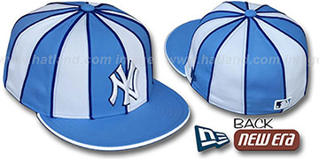 Yankees '12-PACK' Baby Blue-White Fitted Hat by New Era