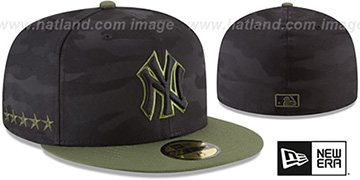 Yankees 2018 MEMORIAL DAY 'STARS N STRIPES' Hat by New Era