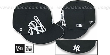 Yankees 'BIGGY FLAW MLB INSIDER' Black Fitted Hat by New Era