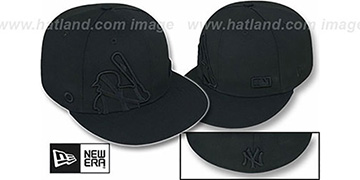 Yankees 'BIGGY FLAW MLB INSIDER BLACKOUT' Fitted Hat by New Era
