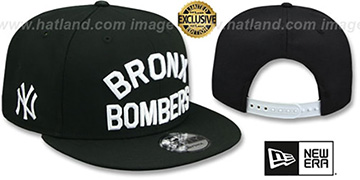 Yankees 'BRONX BOMBERS SNAPBACK' Black Hat by New Era