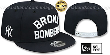 Yankees 'BRONX BOMBERS SNAPBACK' Navy Hat by New Era