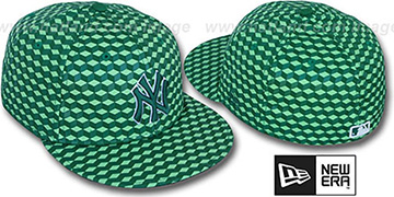 Yankees 'CUE-BERT' Green Fitted Hat by New Era