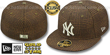 Yankees 'HARRIS TWEED' Fitted Hat by New Era