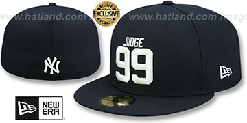 Yankees 'JUDGE 99' Navy Fitted Hat by New Era