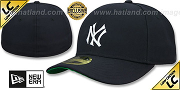 Yankees 'LOW-CROWN 1910 COOPERSTOWN' Fitted Hat by New Era