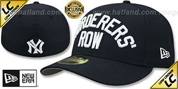 Yankees 'LOW-CROWN MURDERERS ROW' Navy Fitted Hat by New Era