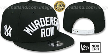 Yankees 'MURDERERS ROW SNAPBACK' Black Hat by New Era