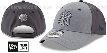 Yankees 'THE-LEAGUE GREY-POP STRAPBACK' Hat by New Era