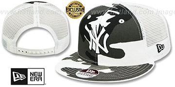 Yankees 'URBAN CAMO SNAPBACK' Adjustable Hat by New Era